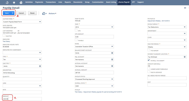 Entering A Commission Payment Jcurve Solutions